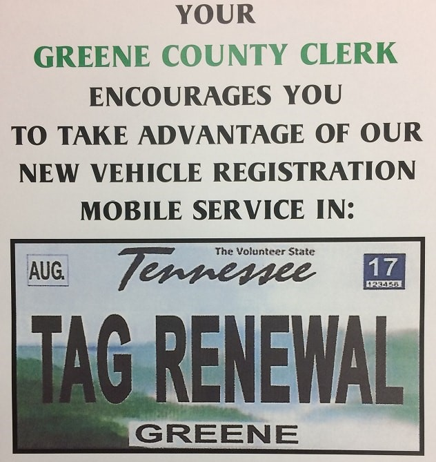 VEHICLE REGISTRATION MOBILE SERVICE